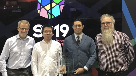 SC19 Technology Challenge Award