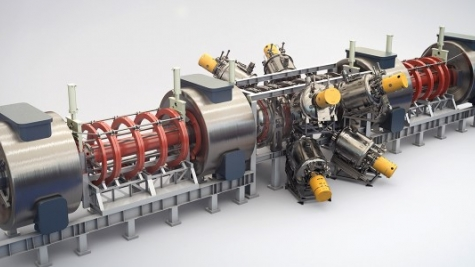 "TAE Technologies' magnetic fusion plasma confinement device, ""Norman"""