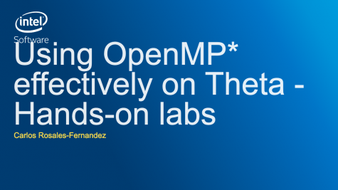 Using OpenMP Effectively on Theta