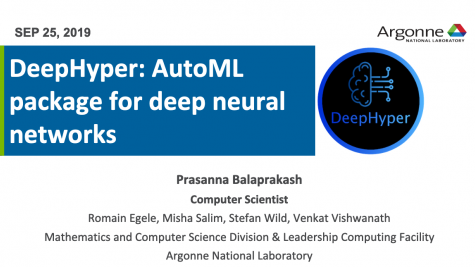 DeepHyper: A Hyperparameter Search Package for Deep Neural Networks