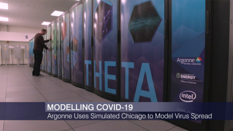 WTTW: Argonne Uses Supercomputer to Model Coronavirus Spread in Chicago