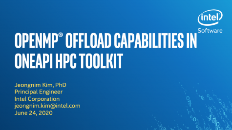 OpenMP Offload Capabilities in the oneAPI HPC Toolkit