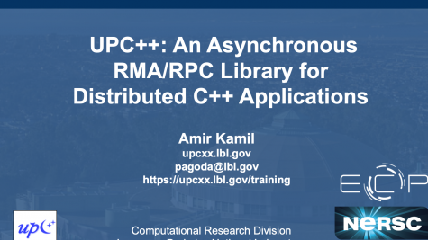 UPC++: An Asynchronous RMA/RPC Library for Distributed C++ Applications