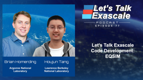 Let's Talk Exascale Code Development: EQSIM