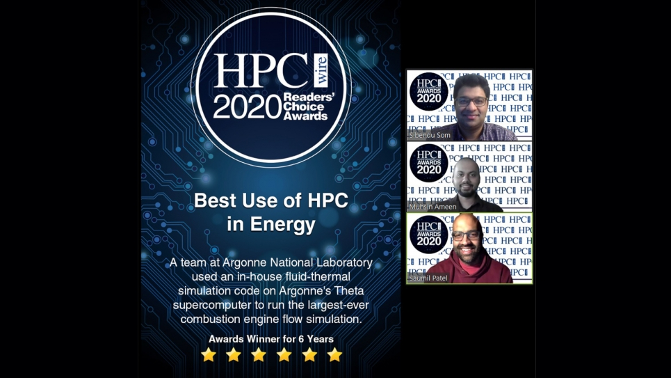 HPCWire Award for Best Use of HPC in Energy