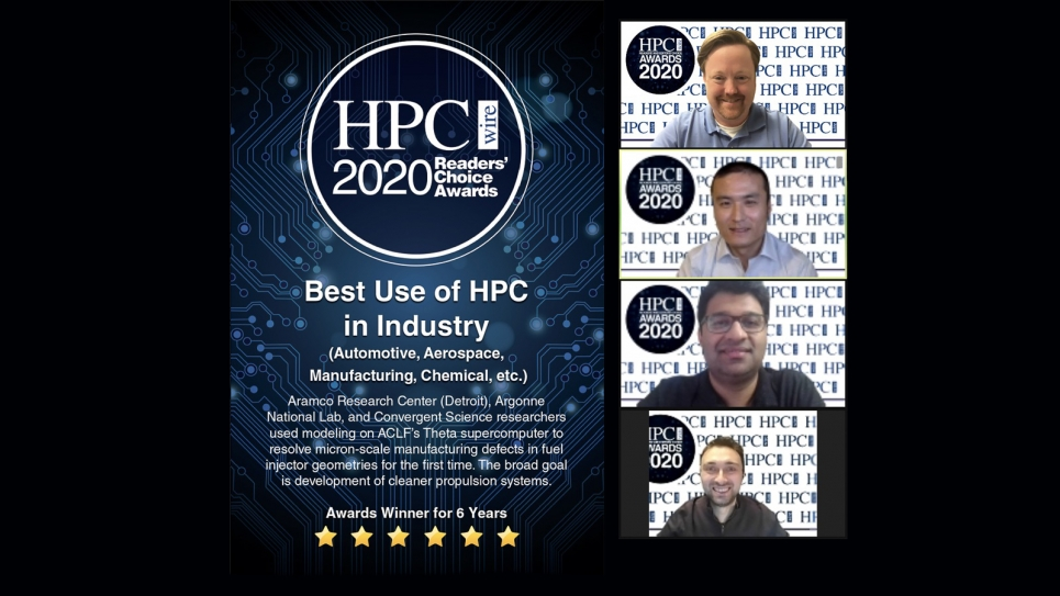 HPCwire Award for Best Use of HPC in Industry