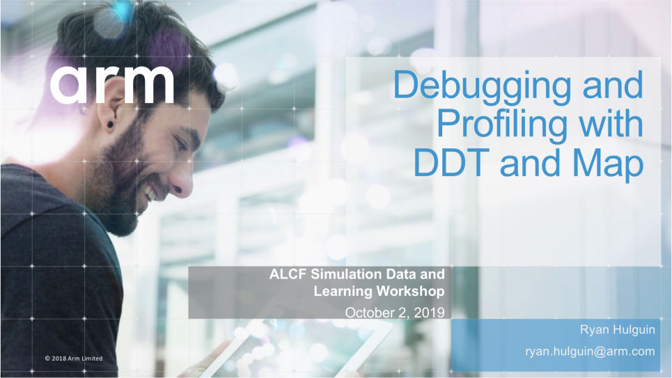 Debugging and Profiling Slide  SDL19 Workshop