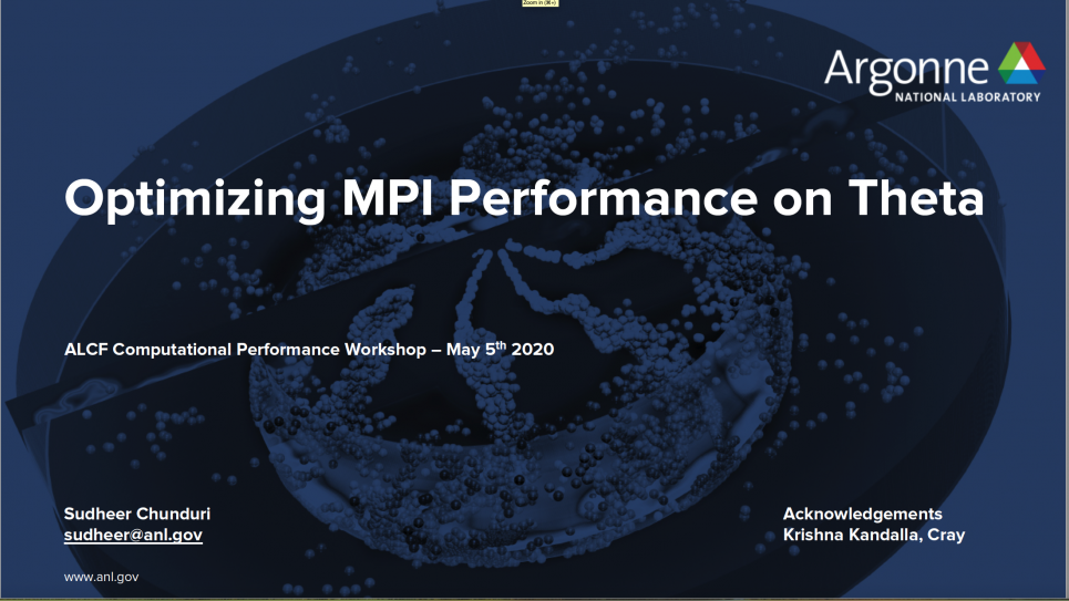 MPI Optimization
