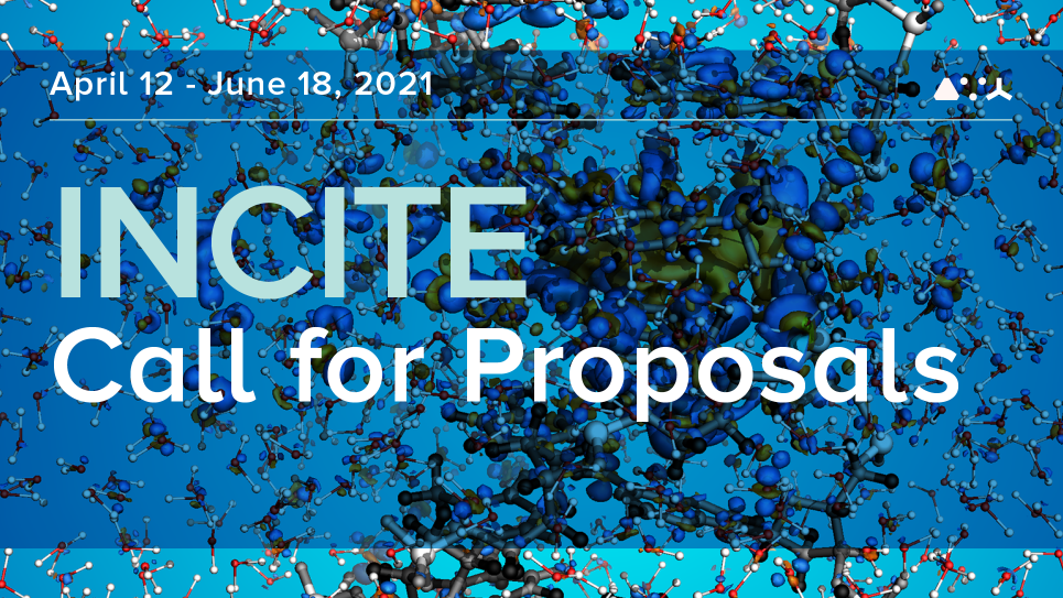 2020 INCITE Call for Proposals